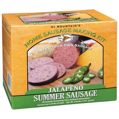 JALAPENO SUMMER SAUSAGE KIT